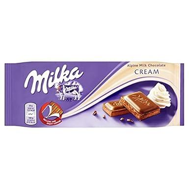 Milka crema de leche 100 g de chocolate: Amazon.es: Alimentación y bebidas
