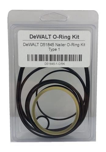 DeWALT D51845 Nailer O-Ring Replacement Kit Type 1