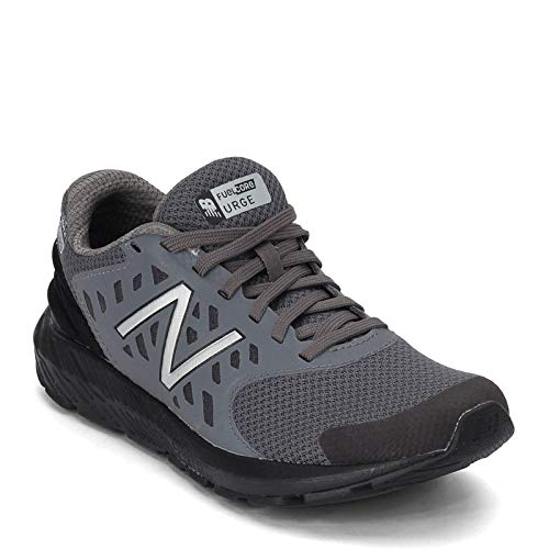 New Balance Boys' Urge V2 FuelCore Running Shoe, Castlerock/Black, 5 M US Big Kid