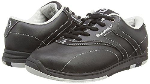 Brunswick Bowling-Schuhe, Womens schwarz - schwarz