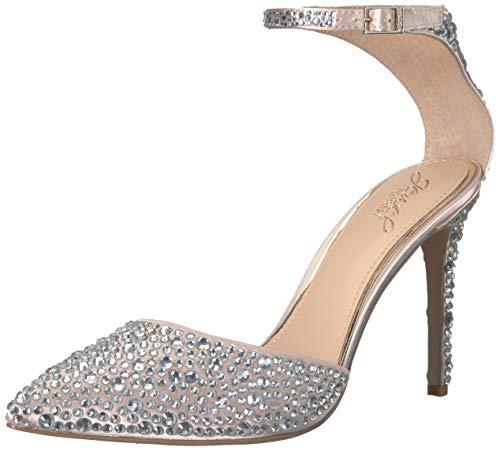 Special Ocassion Shoes (Jewel Badgley Mischka Women's JIMENA Shoe, champagne, M075 M)