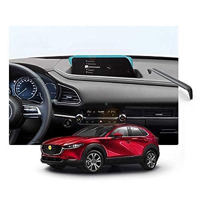 LFOTPP Mazda CX-30 Mazda3 2020 Vehicle Navigator Sunshade Visor, Mazda Glare Vision Shield, GPS Navigation Sun Hood Anti Reflective,Block Sunlight Block Sun Glare: GPS & Navigation