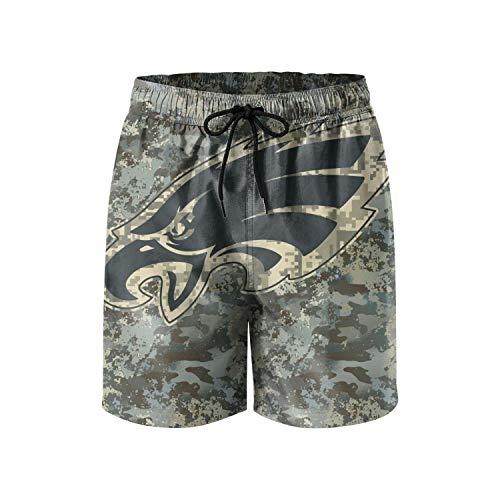 (Mens Football Fans Veterans Day Camouflage Custom Watersports Beach Board Shorts Swim Trunks )