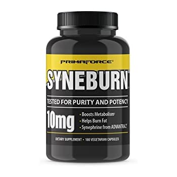 Amazon.com: PrimaForce Syneburn Supplement, 180 Capsules – Boosts Metabolism / Helps Burn Fat