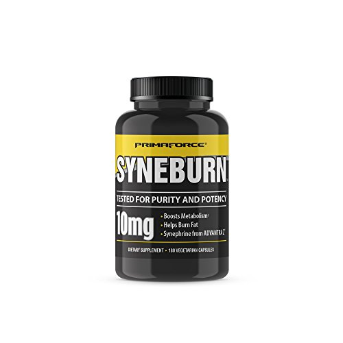 PrimaForce Syneburn Supplement, 180 Capsules – Boosts Metabolism / Helps Burn Fat / Synephrine from ADVANTRA Z ()
