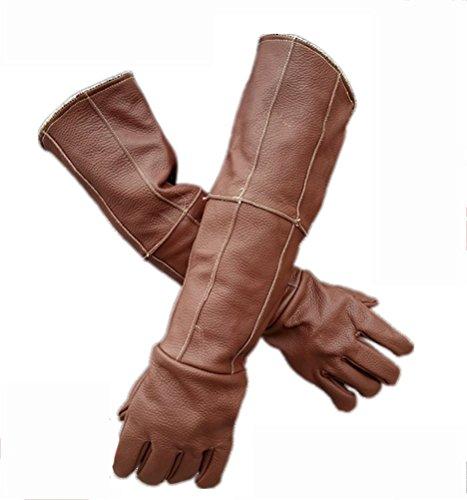 DAN Animal Handling Anti-Bite/Scratch Gloves for Dog Cat Bird Snake Parrot Lizard Wild Animals Protection Glove