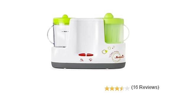 badabulle b001003 Robot de cocina Baby Station, color blanco/verde: Amazon.es: Bebé