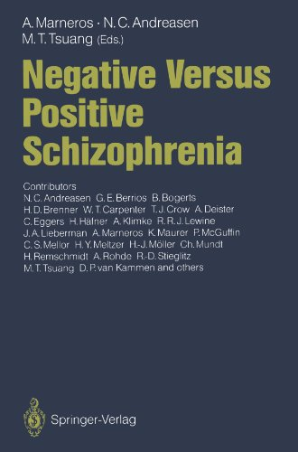 Negative Versus Positive Schizophrenia