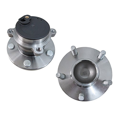 DRIVESTAR pair 512347 2Rear Driver and Passenger Side wheel hub & Bearing w/ABS for Mazda 3 5