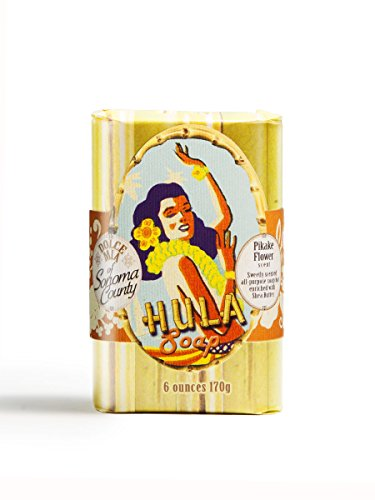 Dolce Mia Hula Girl Pikake Natural Soap Bar 6 - Mean Dolce