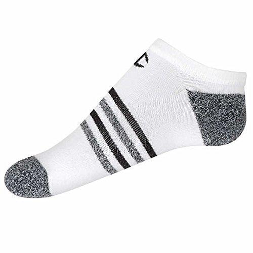 Champion Womens No Show Socks, Wicks Moisture Arch Support, Vapor,( 8 Pair) (Shoe Size 5-10, Black - White)