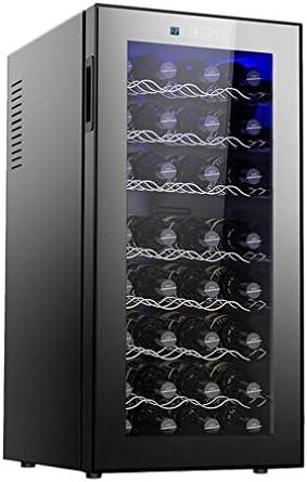 Temperatura LCD: este gabinete para vinos está diseñado para hogares modernos, elegantes, con elegan