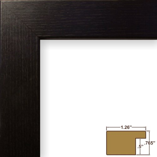 craig-frames-26062-16-by-24-inch-picture-frame-wood-grain-finish-126-inch-wide-black-oak