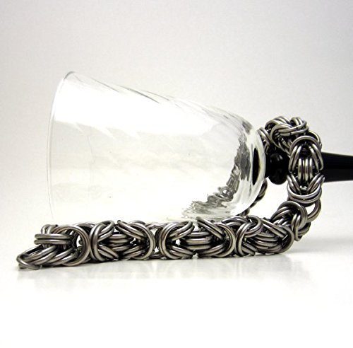 Stainless Steel Kinged Byzantine Chainmaille Bracelet - Byzantine Chainmaille Link