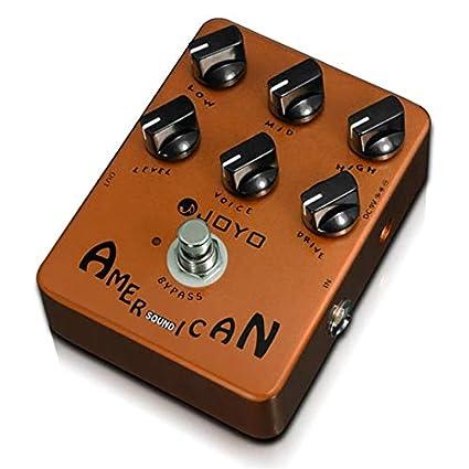Sairis Effect Pedal reproduce el simulador de sonido Bajo eléctrico Compresión dinámica Efectos Suministro de guitarra