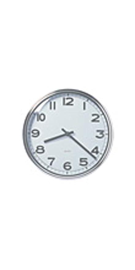 IKEA - PUGG reloj de pared, cromado
