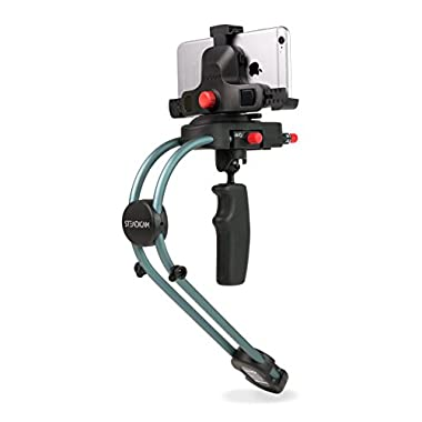 Steadicam Smoothee with Universal Smartphone Adapter for ALL Apple iPhone, Samsung Galaxy, HTC, Nokia Windows Phone and more  - Retail Packaging - Black