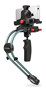 Steadicam Smoothee with Universal Smartphone Adapter for ALL Apple iPhone including iPhone 7 & 7 Plus, Samsung Galaxy, HTC, Nokia Windows Phone and more - Retail Packaging - Black