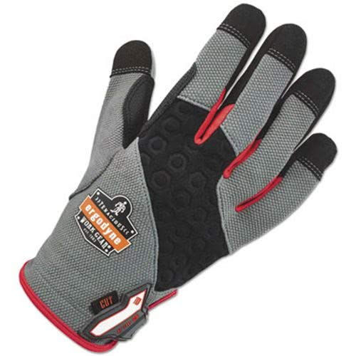 ProFlex 710CR Heavy-Duty + Cut Resistance Gloves, Gray, Med by Proflex