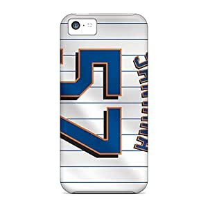 Rosesea Custom Personalized Cases Covers For Iphone 5c - Retailer Packaging New York Mets Protective Cases