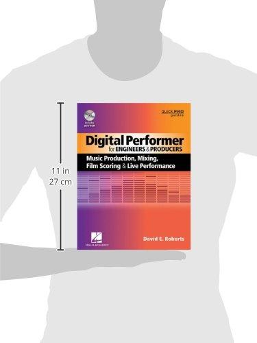 motu digital performer live performance