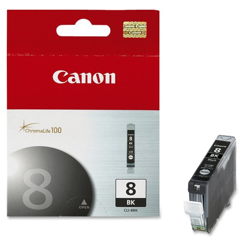 Canon PIXMA CLI-8Bk Ink Tank-Black - Quick Dry Inkjet Printer Shopping Results