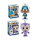 Pop! Animation: Duck Dodgers Bundle with Duck Dodger #127 and Space Cadet #142 Vinyl Figures (2 Items)