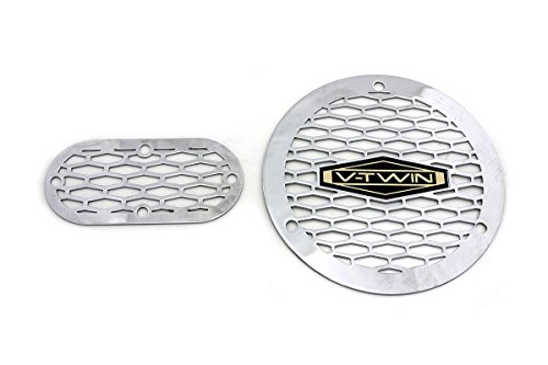 VT 42-1226 Vented V-Twin Derby and Inspection Cover Kit Shovelhead Evolution Twin Cam (Evolution Twin Cam)