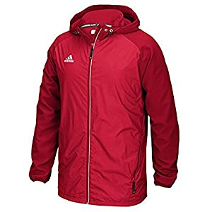Adidas Modern Varsity Mens Woven Jacket M Power Red