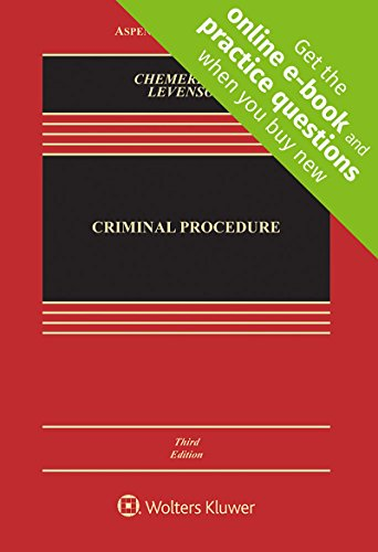 Criminal Procedure [Connected Casebook] (Aspen Casebook)