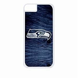 Seahawks-Hard White Plastic Snap - On Case-Apple Iphone 6 Only - Great Quality!