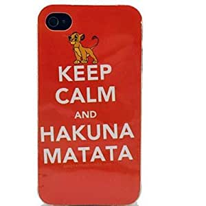 GOG- Cartoon Lion Pattern TPU Soft Case for iPhone 4/4S