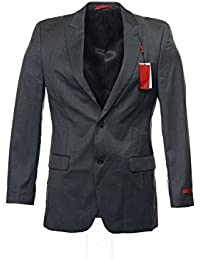 Alfani Mens Wool Long Sleeves Two-Button Suit Jacket