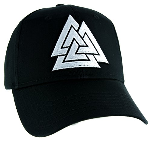 Triangles Valknut Odin Viking Symbol Hat Baseball Cap Alternative Clothing Old Norse Mythology