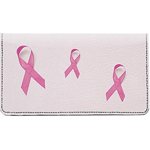 Breast Cancer Awareness Checkbook Cover With Free Pen #3