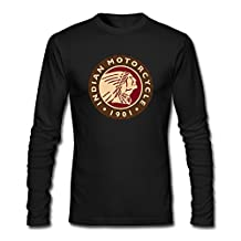 Indian Motorcycle Store118 Long Sleeve Adult Normal Fit Tee-shirt Brand New Good