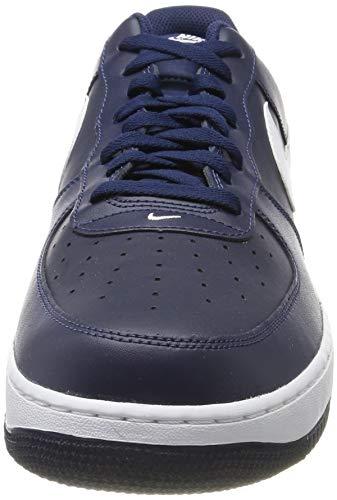 brand new 7c460 c8cc0 Nike Herren Air Force 1 Gymnastikschuhe, White Brown  MainApps  Amazon.de   Schuhe   Handtaschen