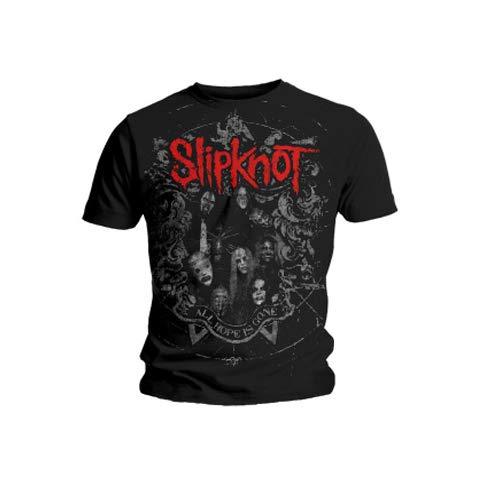 (Slipknot - Star Crest T-Shirt Size L)