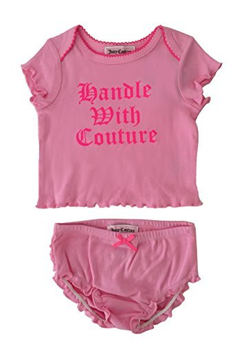 Juicy Couture Baby Girls' 2 Piece Diaper Cover Set
