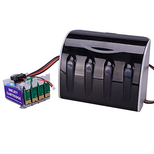Generic CISS Continuous Ink Supply System For Epson T200 Expression XP 200 XP 300 XP 400 XP 410 WF-2520 WF-2530 WF-2540 D Model