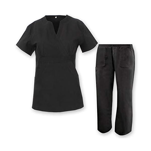 MISEMIYA Camisa de Sanitario para Mujer 1