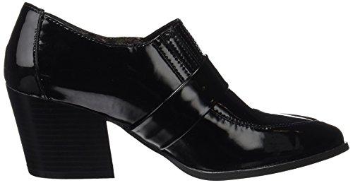 Maria Mare Damen Valeria Geschlossene Schuhe mit Absatz Schwarz (Charolin Negro)