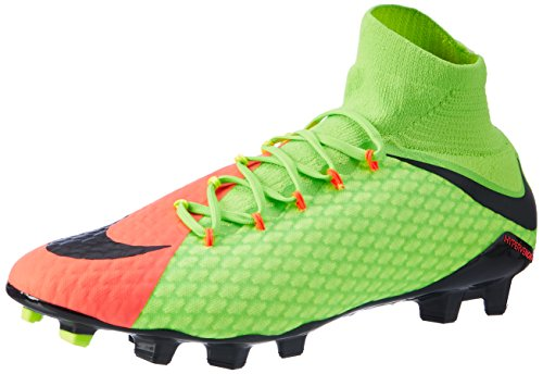 Black III Green Chaussures Orange FG Electric Nike Phatal Homme Hypervenom Vert volt de hyper Football Noir Vert qBwEO4C7