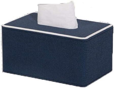 Caja De Pañuelos Marmoleado Servilletero De Cuero para Kleenex Servilleta Decoración De Coches Cuarto De Baño Aparadores,B-S: Amazon.es: Hogar
