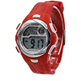 Children's Sports Digital Watch, Red Strap