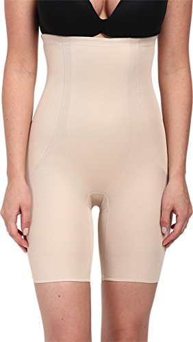 Miraclesuit Shapewear Back Magic High Waist Thigh Slimmer, Nude L (Women's 12-14)