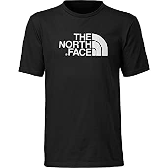 The North Face Men's Half Dome Tee Black White Cotton Blend T Shirt Small