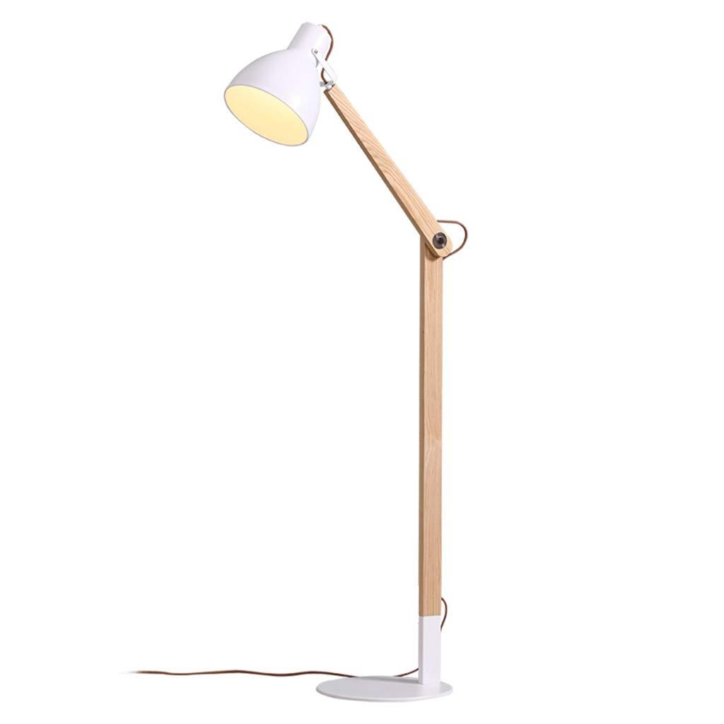 &フロアランプ フロアランプ近代的なミニマリストの寝室の研究読書アイLED垂直のベッドサイドランプ &照明 B07M6JHXWT