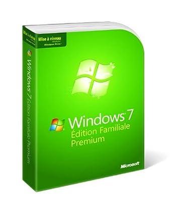 Microsoft Windows 7 Edition Familiale Premium Mise à jour