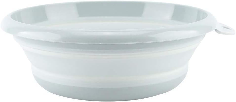 Ciotola Pieghevole per lavabo Vaschette per Il bucato Bacinella Portatile in plastica per Uso Domestico Colore : Blu per Il Lavaggio Domestico